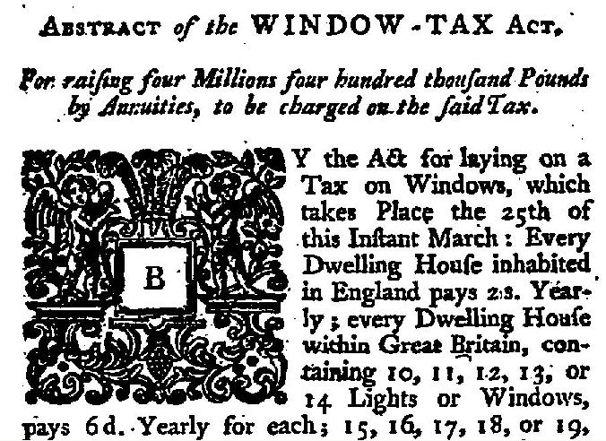 Window-Tax