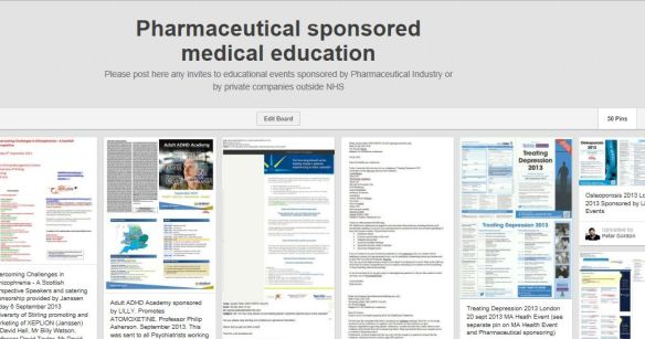 Pharmaceutical Sponsored Education
