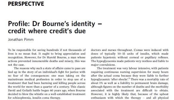 Dr Bourne 1