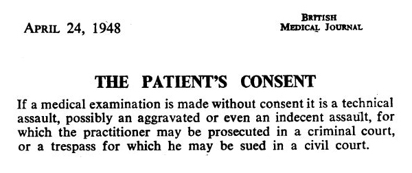 The Patient's consent