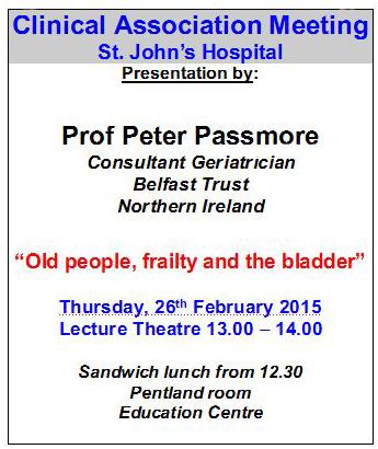 Passmore, 26-2-2015, NHS Lothian