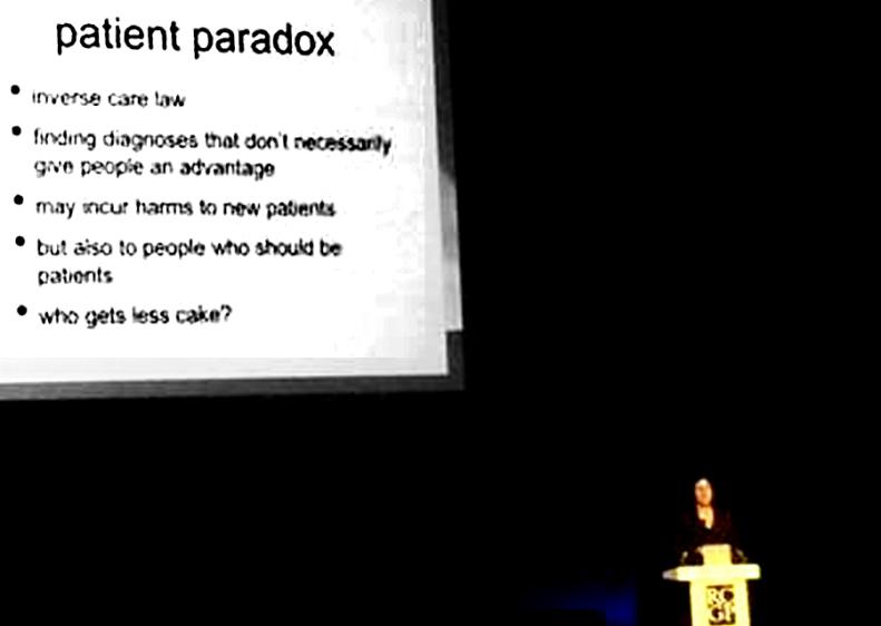Patient Paradox - Mgt McCartney 3 Oct 2014