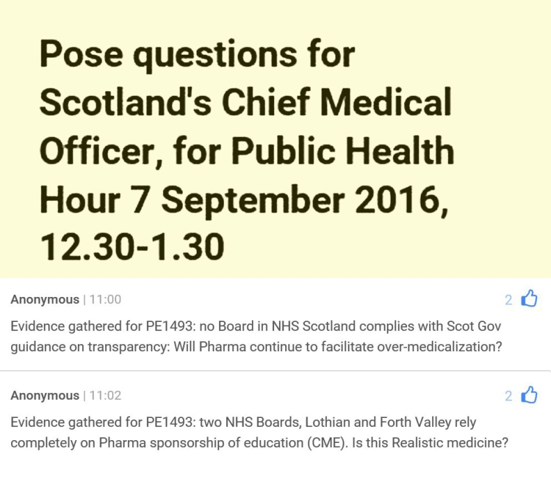 cmo-invites-questions-on-realistic-medicine-7-sept-2016