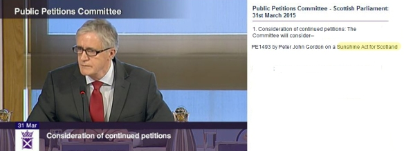 Petitions Committee 31 march 2015