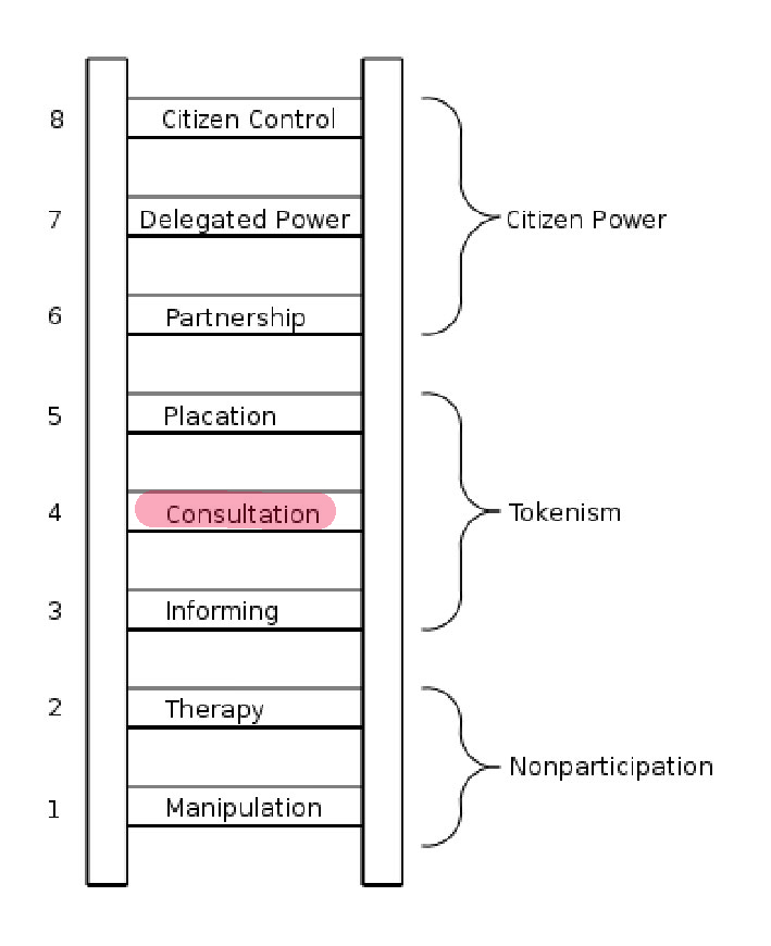 ladder of involving our elders