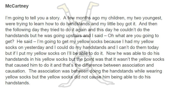 yellow socks and handstands