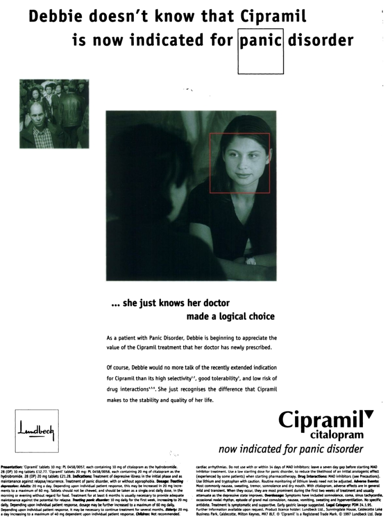 1997 British Journal of Psychiatry advert 01