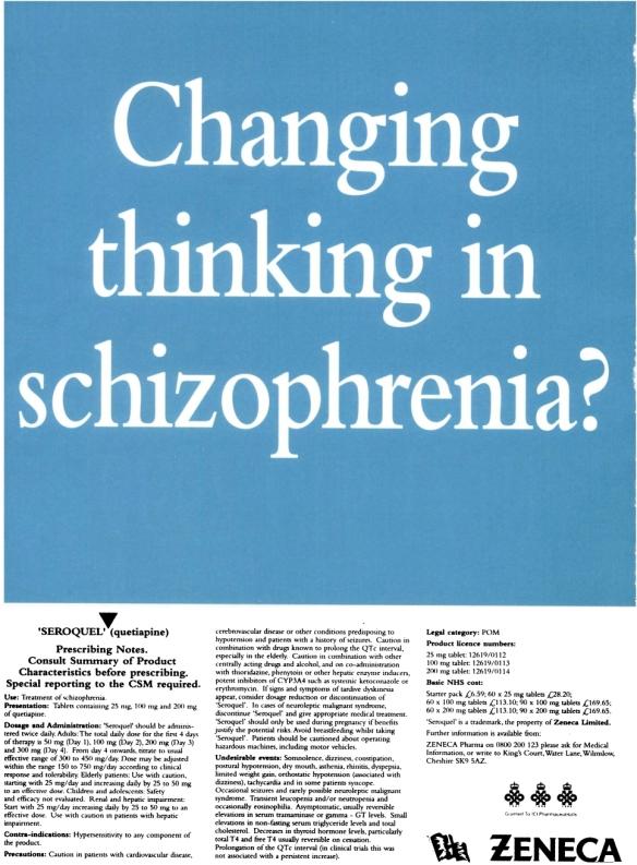 1997 British Journal of Psychiatry advert 09e