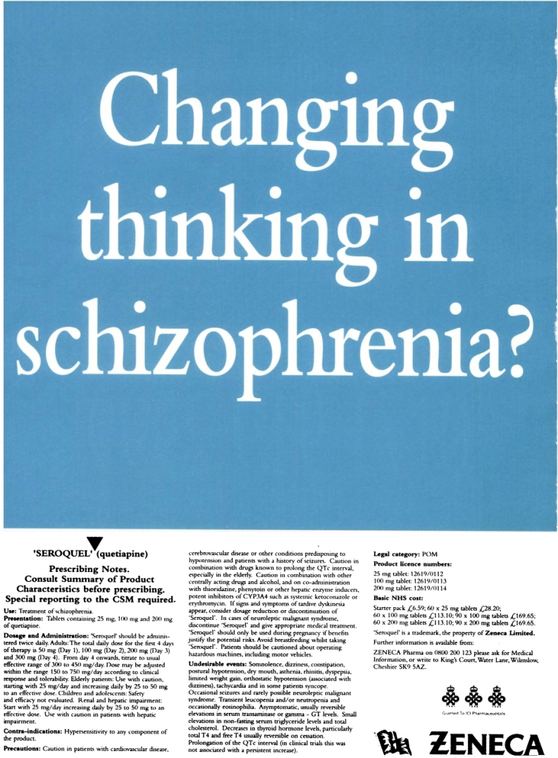 1997 British Journal of Psychiatry advert 09e