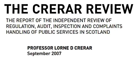 IndependentregulatorNHSScotland09
