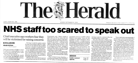 nhs-staff-too-scared-to-speak-out-paul-gray-chief-executive-pag1962
