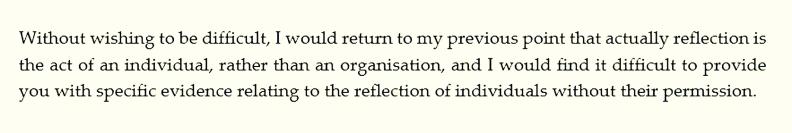 Tracey Gillies 16-Mar-2016 Glasgow Declaration
