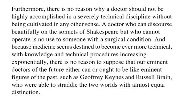 007 Demise of cultured doctors