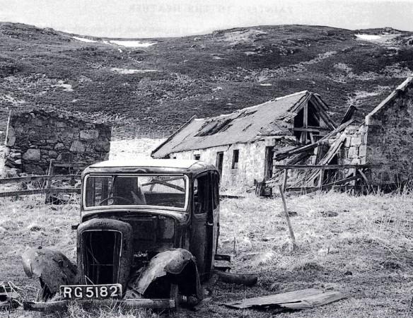 A car at 'The Camlet'