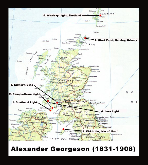 Alexander Georgeson, Principal Lighthouse Keeper and first of the 'Lighthouse Brothers.'