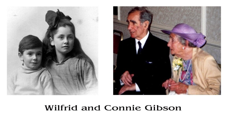 Brother & sister - Wilfrid & Connie