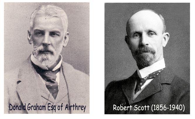 Donald Graham, Airthrey and Robet Scott, Cornton