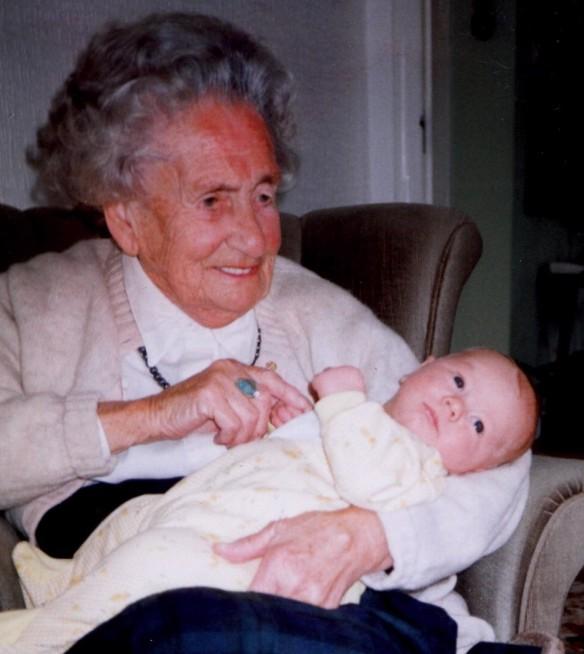 Great Granny with Andrew R Gordon
