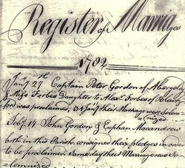 Marriage of 'Camlet John'