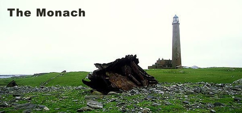 Monach Lighthouse on the Outer Hebrides