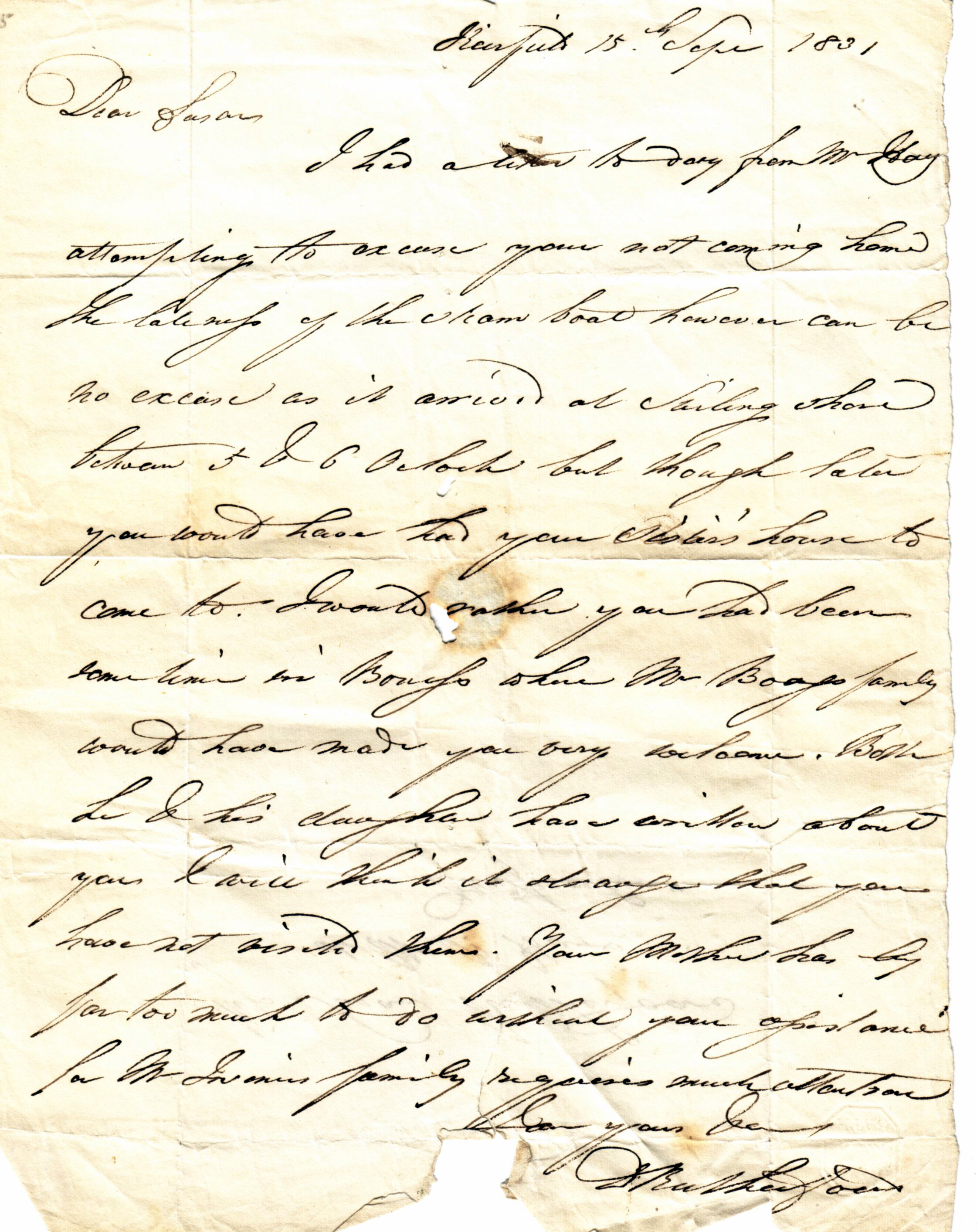 the rutherford letters hole ousia no excuse david rutherfoord s letter to daughter susan