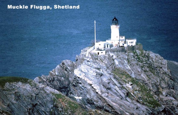 North Unst Lighthouse 'Muckle Flugga'