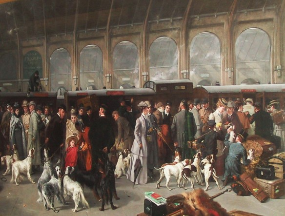 Perth Station in the time of James Wilkie