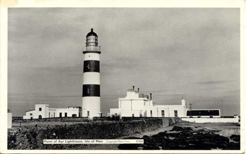 Point of Ayre Lighthouse, Kirkbride parish, Isle of Man