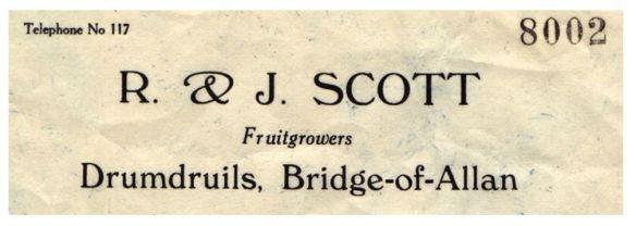 R & J Scott, Drumdruils