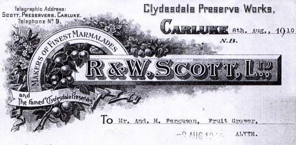R & W Scott, Carluke