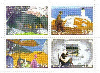 Rona Island stamps