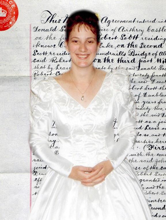 Sian F Williams as bride