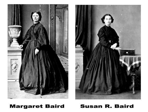 The Crinolene Baird sisters