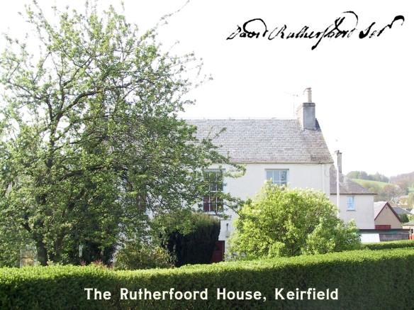 The Rutherfoord House, Bridge of Allan