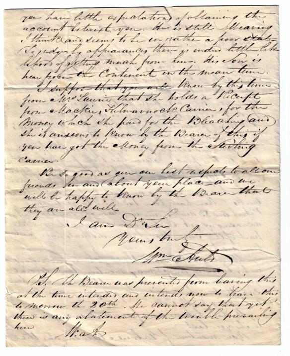 To David Rutherfoord 13 Aug 1832 b