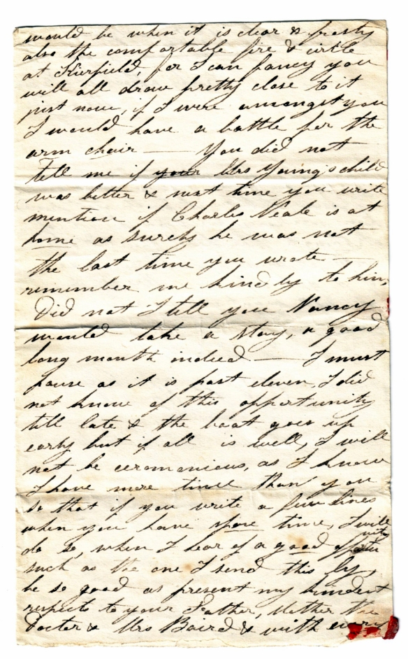 to Susan Rutherford 17 Nov 1831 (3)