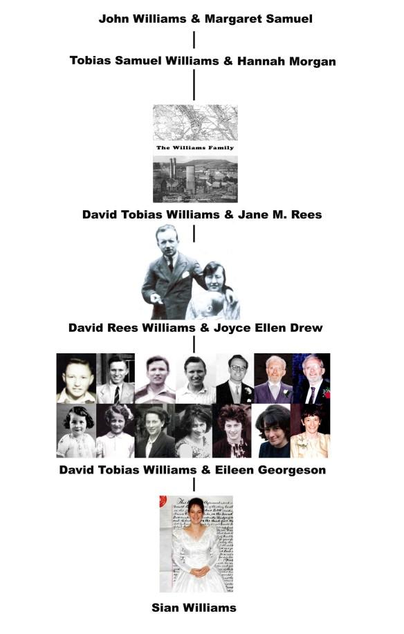 Williams family tree