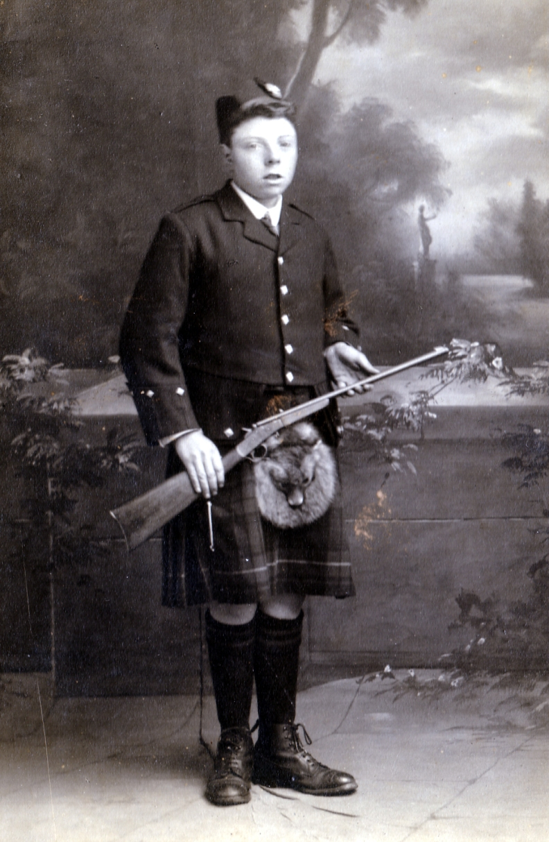 John Cooper Kennedy as a lad