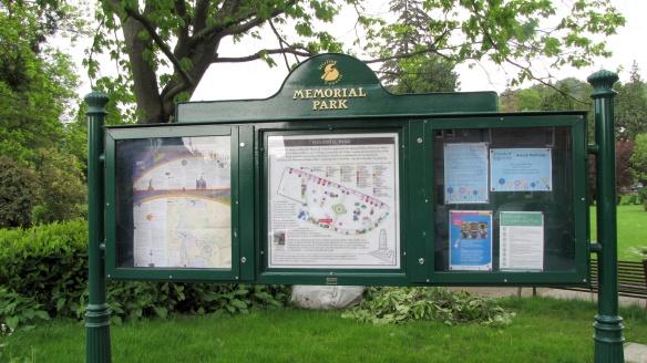 memorial-park-noticeboard-erected-summer-2014