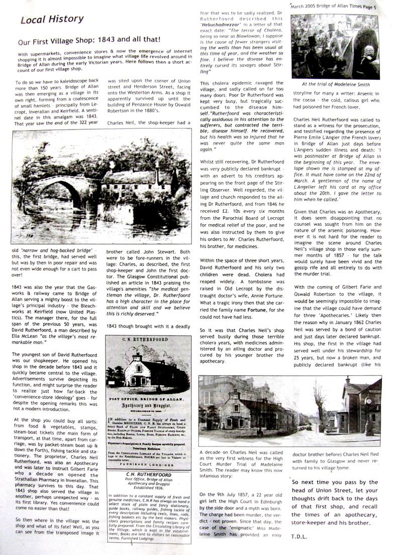 peter-writes-bridge-of-allan-gazette-march-2005