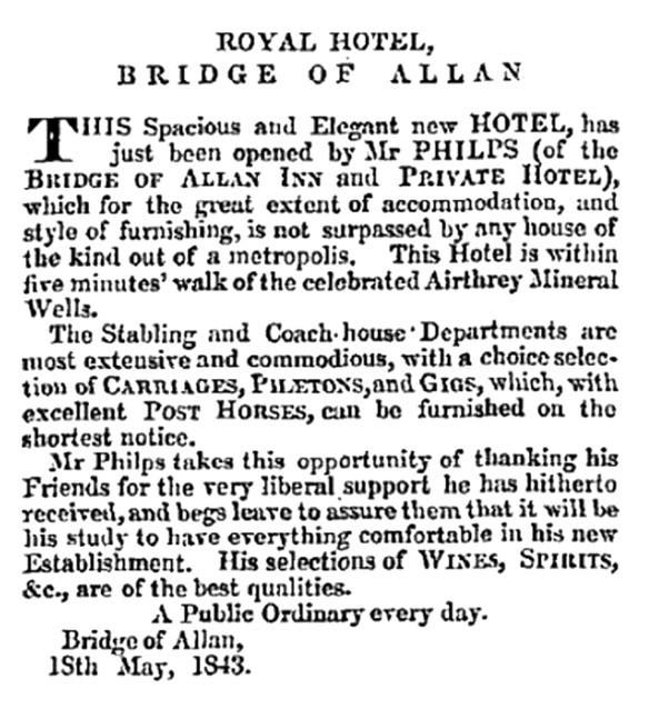 royal-hotel-bridge-of-allan-may-1843