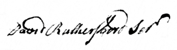 signature-of-david-rutherfoord