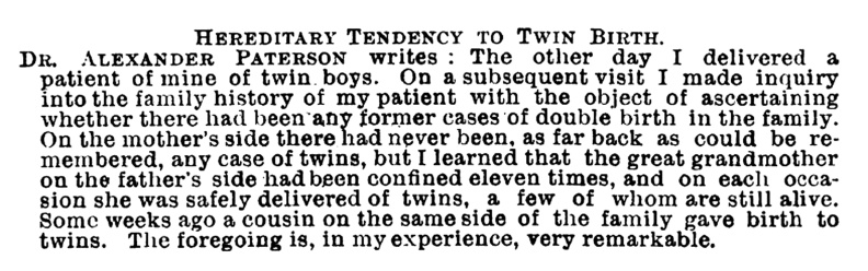 Twin-Birth-Dec-1892-Dr-Paterson
