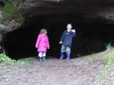 In Stevenson's Cave - April 2005