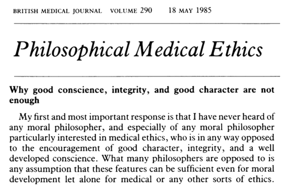 philosophical-medical-ethics