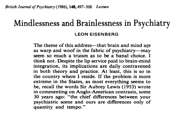 mindlessness-and-brainlessness-in-psychiatry-1986