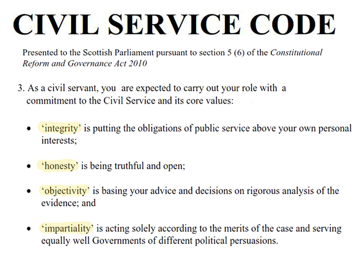 civil servants Historical examples let us take the case of a civil-servant whose environment is a district in india.