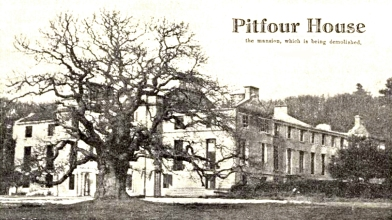 Pitfour 1930 to be demolished