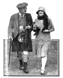 Zena Dare and her father-in-law Malcolm