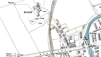 Kirkhill, Broxburn map 1894